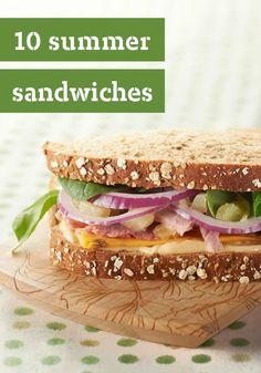 summer picnic, burger, summer sandwich