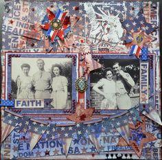 Faith, Family & Freedom - Scrapbook.com