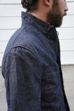 We love denim jackets.