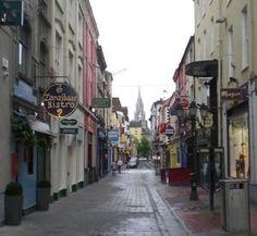 Cork, Ireland.  Very nice city.