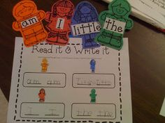 Mrs. Lee's Kindergarten: All About Me Unit! Math and Literacy centers for the beginning of the year.