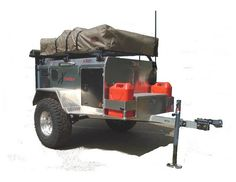 Overland / Expedition Style off road trailers refer to trailers specifically built for off road/4x4 trail use. These trailers usually feature large tires and an advanced suspension system. They also often include many advanced features for extended back country use