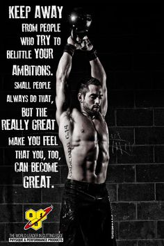 Become great people.