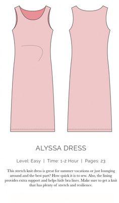 Alyssa Dress Flat