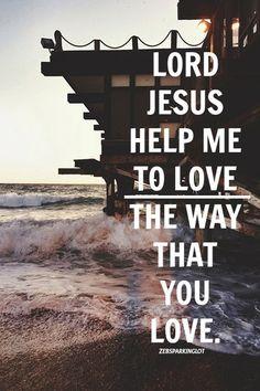 love like JESUS...