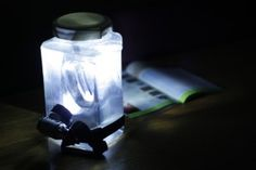 When the power goes out, this do it yourself lantern can make a HUGE difference.  #DIY