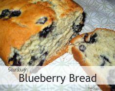 Sourdough Blueberry Bread ← The Organazi