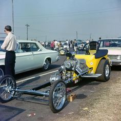 Vintage Drag Racing - Street Roadster - Gary Cagle