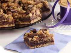 Easter Dessert Recipe: Chocolate Peanut Butter Crunch Bar