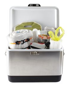 Summertime Car Kit - be prepared for impromptu picnics, beach trips, and other summer activities