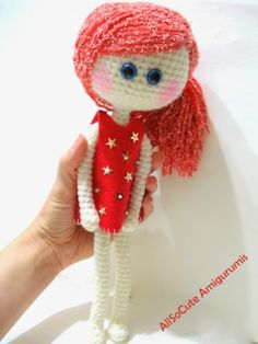 AllSoCute Amigurumis: Crochet Doll, Amigurumi Doll