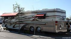 Van Spotting: Featherlite Vogue, stunning 45ft RV! Yes, 45 feet!