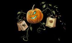 monsters vs halloween