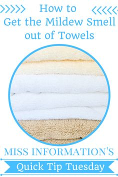 No more stinky towels with this quick tip!