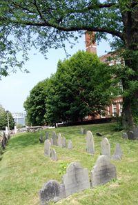 Massachusetts -- Boston : Copp's Hill Burying Ground