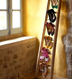 cute shoe rack idea
