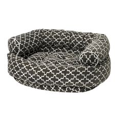 Donut Dog Bed in Graphite Lattice at Joss & Main