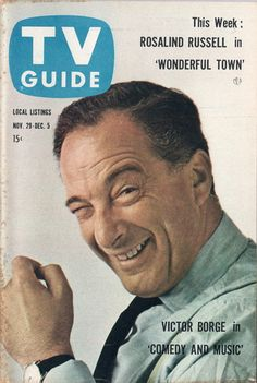 Victor Borge  November 29-December 5 1958