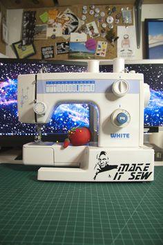 geeki, sewing machines, bold, stuff, nerdi, funni, startrek, picard, star trek