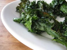 Kale chips yum!