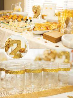 Golden Birthday (love the sparkle!)