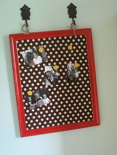 magnetic fabric covered bulletin board