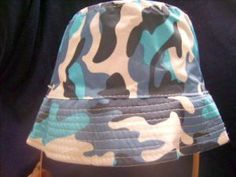 BLUE CAMOFLAGE HAT Easter basket NWT NEW        Price: $14.99