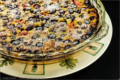 Mixed berry and almond custard - a must try! #LowGI