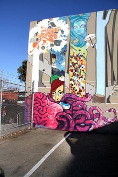 Mural Public Works San Francisco by Aleix Gordo Hostau, via Flickr