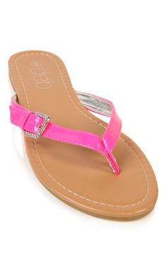 thong sandal with stone buckle thong sandal, stone buckl, flipflop