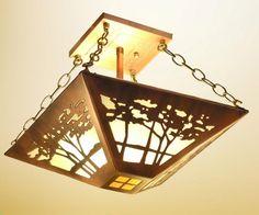 photograph: james mattson lighting coppercraft copper craft landscape ceiling mount
