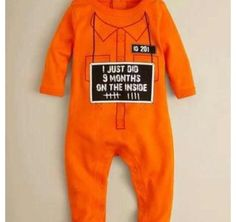 Baby take home outfit (: baby outfits, halloween costumes, baby gifts, first halloween, hard times, baby halloween, babies clothes, funny babies, prison break