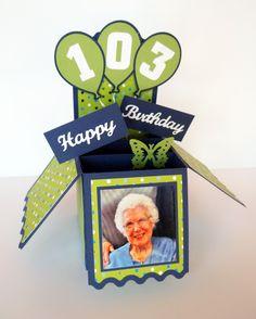 Happy Birthday Card in a Box
