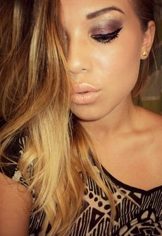 loving this eye makeup