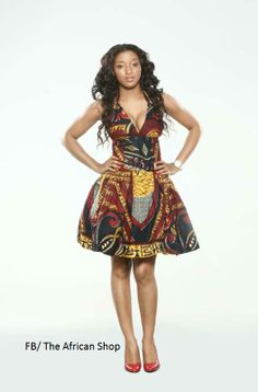 Eyptianne Dress by THEAFRICANSHOP on Etsy, £60.00