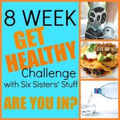 """Six Sisters' Stuff: 8 Week """"Get Healthy"""" Challenge.. on week 2!!"""