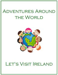 A fun unit - Let's Visit Ireland. This unit is great for Preschool and kindergarden.  Some items included in this file:    The Ireland Flag printout. Information how the Ireland flag came into existence.    Ireland Flag worksheet    Irish Flag Quiz    Ireland Information: Location, Language, Population, Climate    Map of Ireland worksheet    What are the Main Staples of Ireland?    Recipes and more...  Thank you for Viewing!  Jean  1 - 2 - 3 Learn Curriculum
