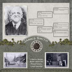James Smith...heritage family tree page.