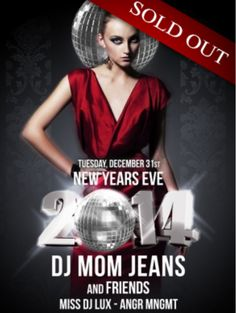 We are so excited to see Downstairs in #ParkCity SELL OUT their #NewYearsEve party again this year! If you were lucky enough to get your ticket to get in the door, have a great time. #Utah https://ticketcake.com/event/nye-dj-mom-jeans/park-city/2013-12-31