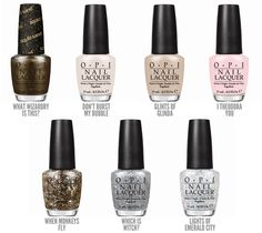 Oz the Great and Powerful Nail Polish O.P.I.