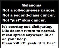 melanoma awar, skin cancer, melanoma realiti, cancer schmancer, melanoma survivor, cancer survivor