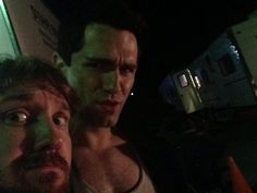 Being Human SyFy filming (via @SamWitwer)