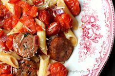 Sausage Pasta Recipe | Budget Savvy Diva