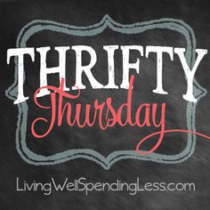 Come celebrate one year of Thrifty Thursday at LivingWellSpendingLess.com with a HUGE giveaway just for bloggers!  Plus find lots & lots of awesome budget friendly crafts, recipes, household tips, & money-saving ideas.