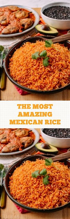 THE MOST AMAZING MEXICAN RICE #mexicanrice