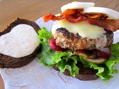 Estonia Burger RECIPE (look under Country 'E' on drop down list)