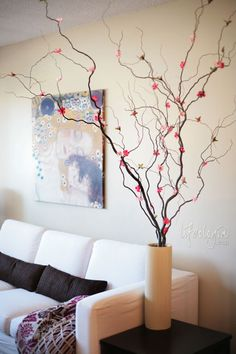 Willow Tree branch decorations