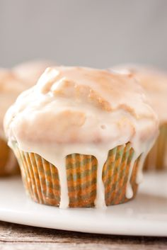 Glazed Doughnut Muffins - Cooking Classy