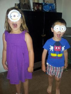 Want to be a Minion? #JustAddGoggles