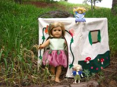 Fairy Cottage Playhouse for American Girl Dolls - DIY